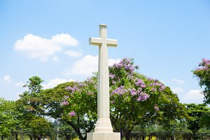large crucifix