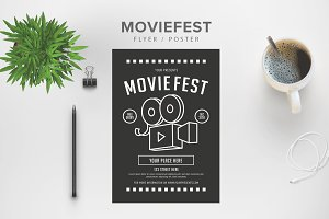 Moviefest Flyer