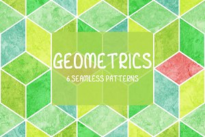 6 Geometric Patterns Collection
