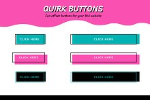 Quirk Buttons - Playful Divi Buttons