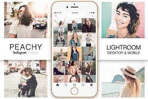 Peachy Instagram Lightroom Preset