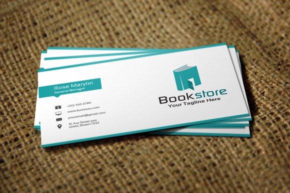 Book store logo template design logo templates creative market reheart Image collections