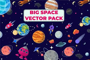 Big Space Vector Pack