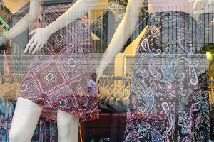 Mannequin in a Shop