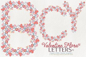 Valentine Flora 02 - Letters 05