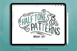 Halftones & Patterns for Procreate