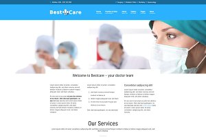 Bestcare - Medical WordPress Theme