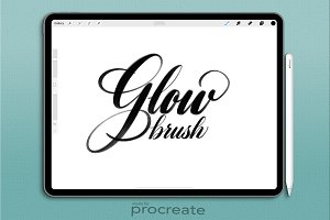 Procreate Brush: Glowbrush