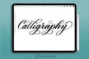 Procreate Brush: Calligraphy