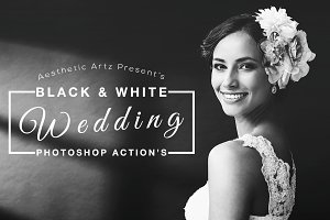 Black & White Wedding Actions