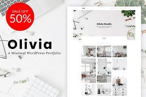 Olivia - A Minimal Portfololio
