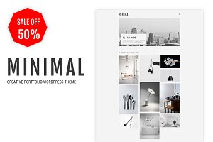 Minimal - Creative Portfolio Theme