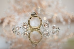 Wedding Accessories with Ring