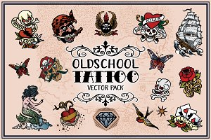 Tattoo Vector Pack