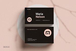 Modern Business Card | Ms word