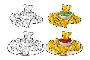Nachos - mexican traditional food