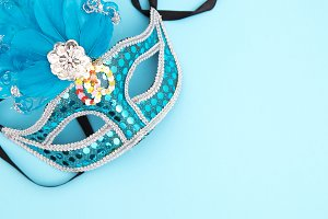 masks and disguises, carnival concep