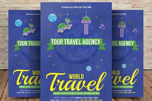 Thailand World Travel Agency Flyer
