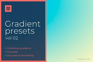 Gradient backgrounds & presets vol2