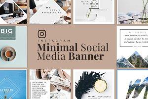 Minimal Social Media Banner