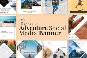 Adventure Social Media Banner