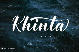 Khinta Script