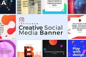 Creative Social Media Banner