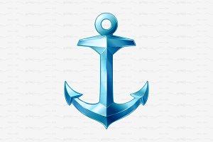 ⚓ vector volume anchor