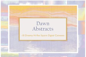 Dawn Abstract Dreamy Sunrise Set