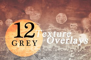 Grey Texture Overlays