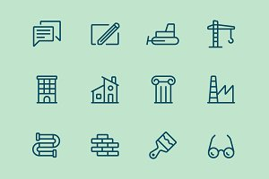Builging Icons