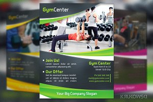 Gym Center Flyer