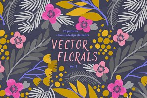 Vector Florals vol.1