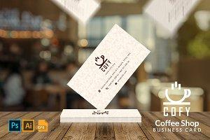 Cofy - Coffee Shop Business Card