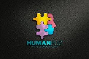 Human Puzzle Logo