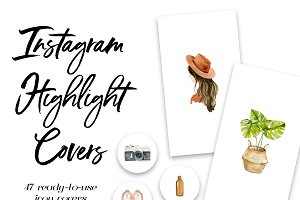 47 Instagram Story Highlight Covers