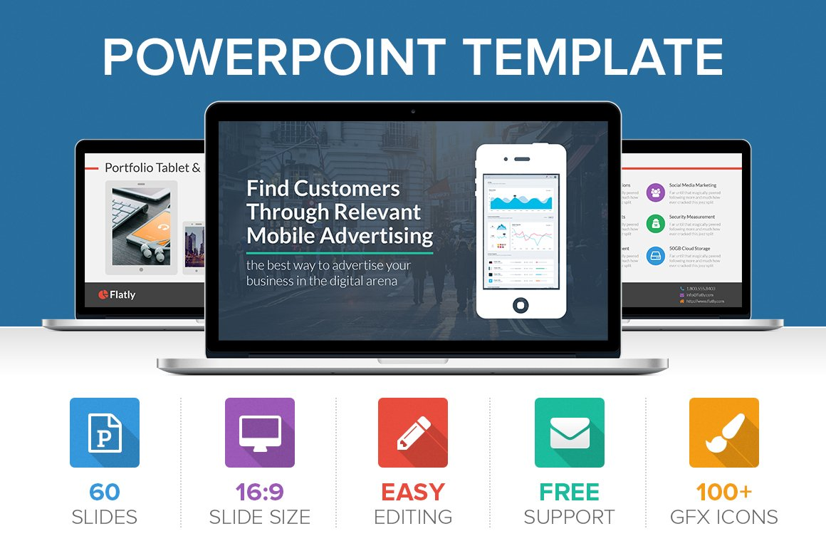 Ios 9 style powerpoint template presentation templates flatly powerpoint template toneelgroepblik Images