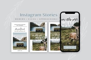 Travel Blog Instagram Stories Pack