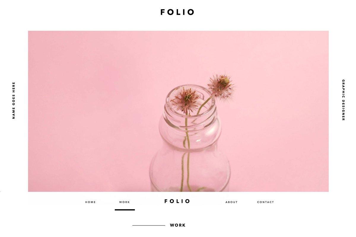 FOLIO | Adobe Muse Website Template