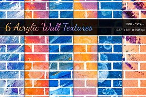 Acrylic Wall Textures