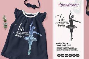 Ballet SVG - Ballerina SVG Cut File