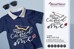 Cupid SVG - Valentine's Days SVG