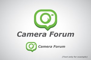 Photography Forum Logo Template