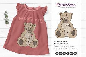Teddy Bear SVG Cut Files