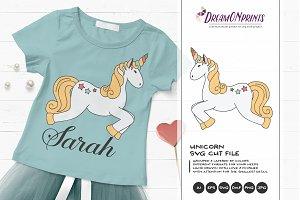 Unicorn SVG - Unicorns Illustration