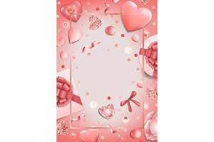 Romantic Pink Template