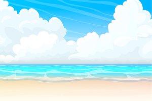 ⚓ vector sea, ocean, beach