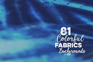 81 Colorful Fabrics Backgrounds