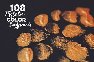 108 Metalic Color Backgrounds