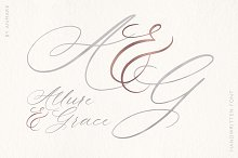 Allure and Grace Font